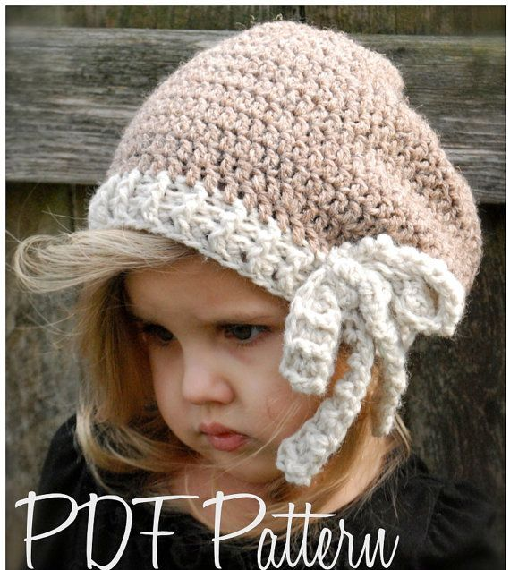 Crochet PATTERN-The Emileigh Slouchy (Toddler, Child, Adult sizes ...