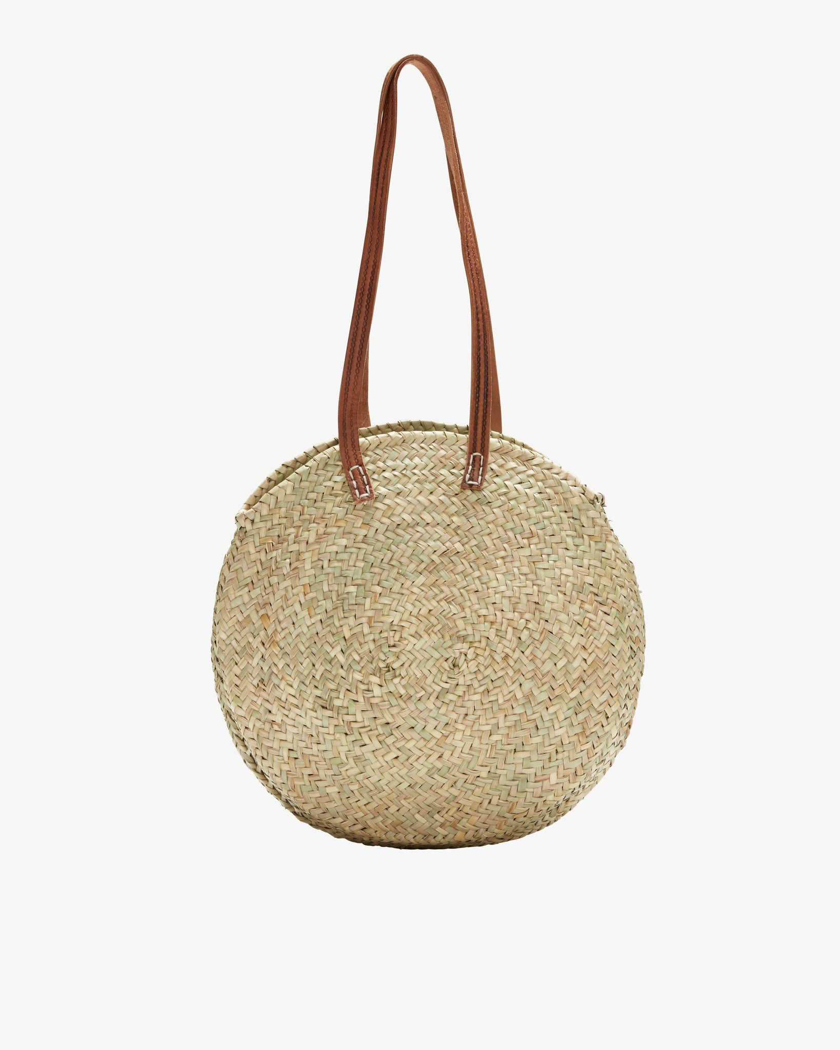e936e687598c Oval Round Shopper Basket - Indigo&Lavender Tote Handbags, Clear Handbags,  Brown Handbags