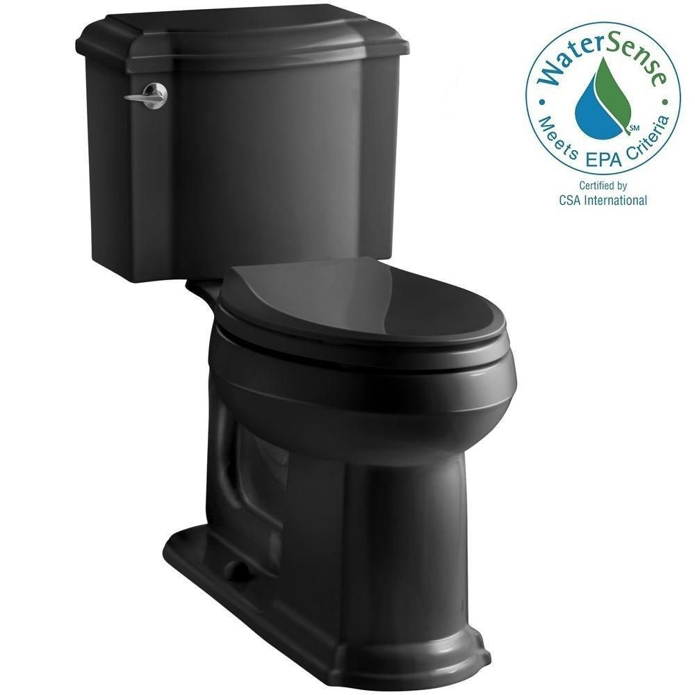 Kohler Devonshire 2 Piece 1 28 Gpf Single Flush Elongated Toilet