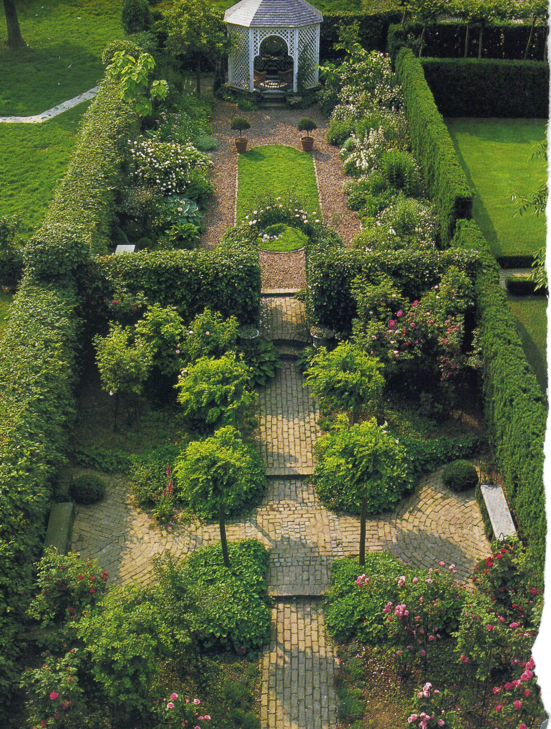 Walled Garden English Garden Design Garden Design Layout Landscaping Garden Design Layout