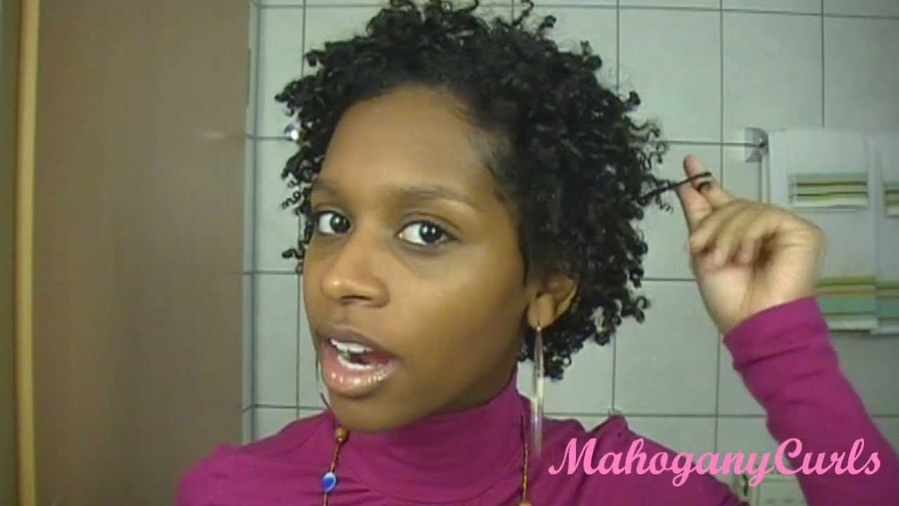 Twist Out Styles On Natural Hair: How To Do A Twist Out For Short Natural Hair