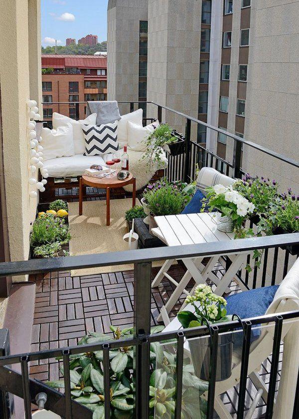 Belle Terrasse en longueur : nos idées d'aménagement | Idée déco GL-95