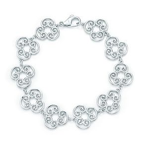92afecdef Tiffany & Co. - Paloma's Venezia Goldoni triplo link bracelet in sterling  silver -- the earrings are great too!