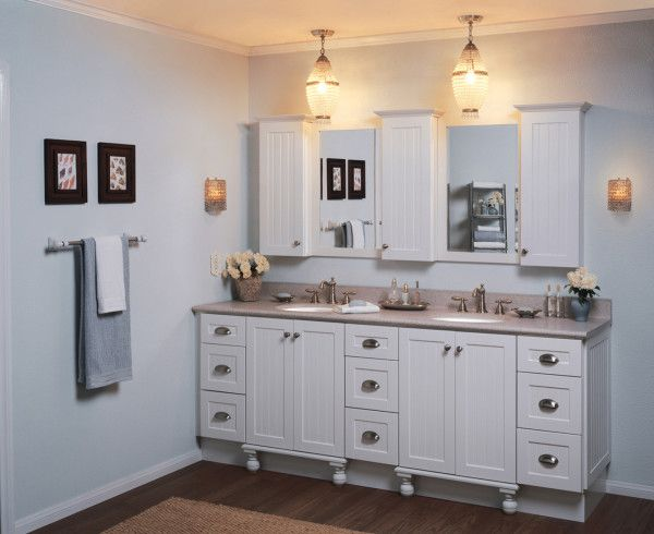 image of beautiful bathroom medicine cabinets recessed ideas with wall mounted linen storage using beadboard door - Bathroom Designs Using Beadboard