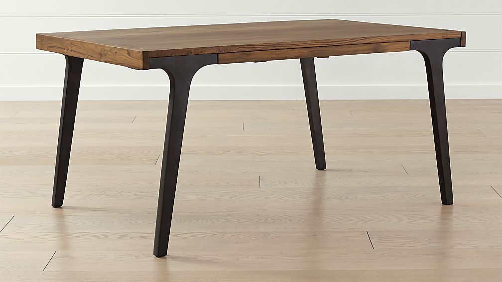 Lakin 61 Recycled Teak Extendable Dining Table Seats Up To 8 With