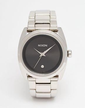 Nixon Queenpin Silver Watch