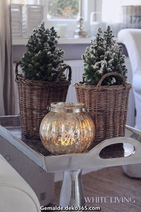 Photo of Great atmospheric Christmas decoration ♥ Beautiful Christmas decoration