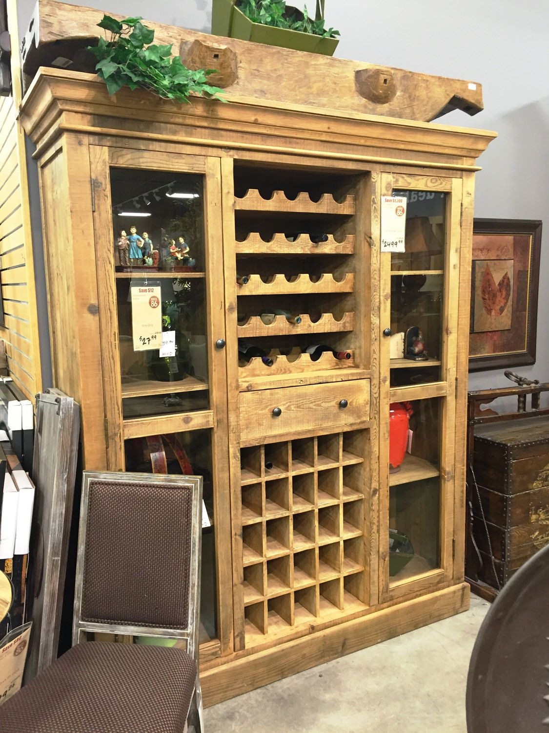 Reclaimed Wine Cabinet Dock86 Spend A Good Deal Less On Furniture In Minneapolis And St Paul Mn Area