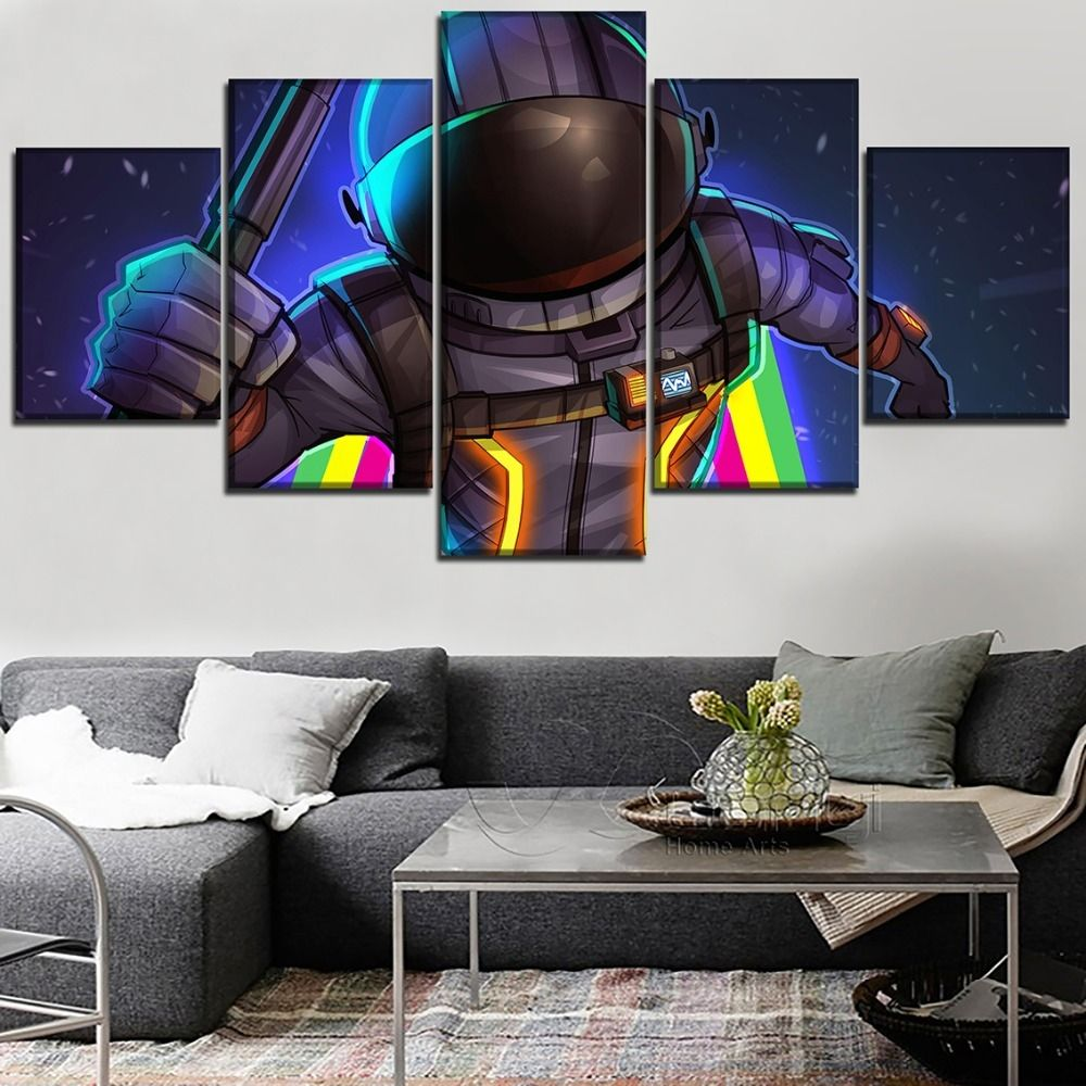 Home Decor Fortnite Concept Poster Wall Art C Art Print // Canvas Print