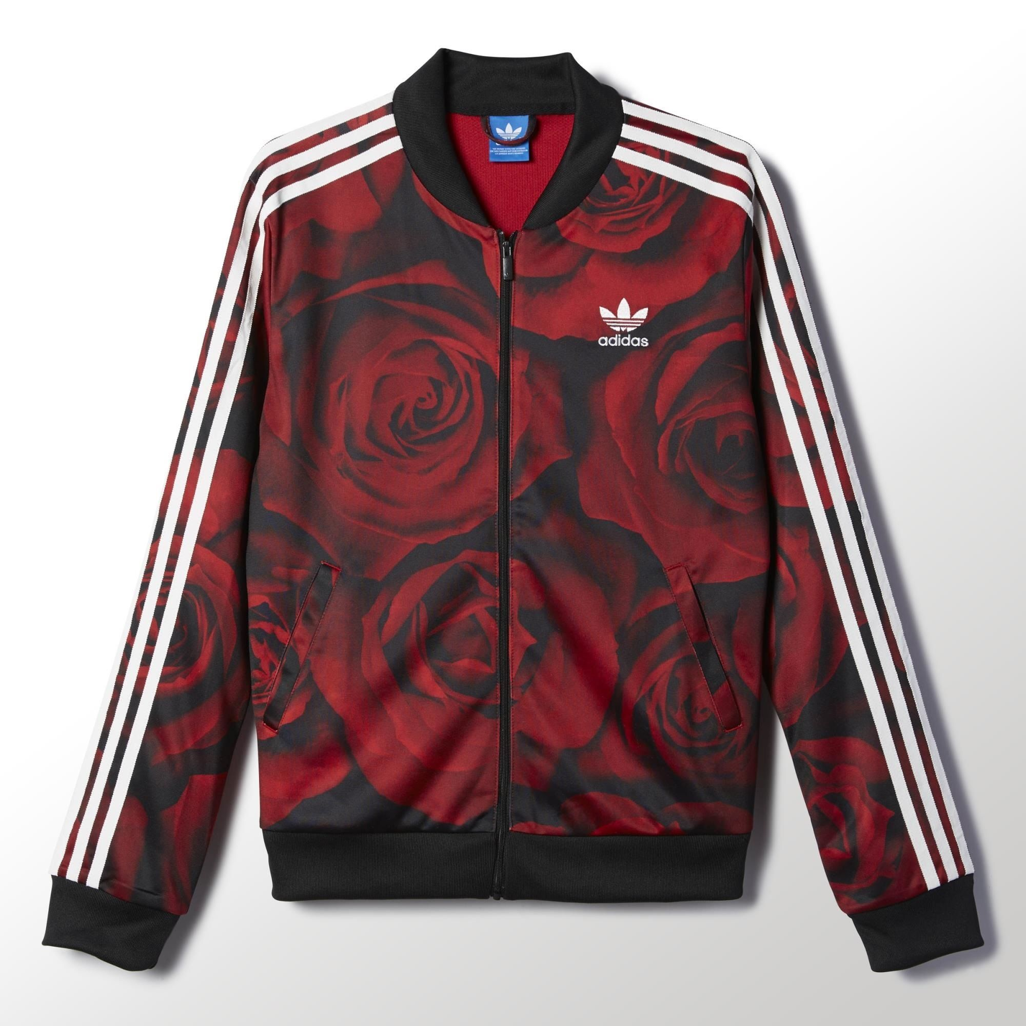 Adidas Red Clash Track Jacket Adidas Us Activewear Print Adidas Outfit Red Adidas [ 2000 x 2000 Pixel ]