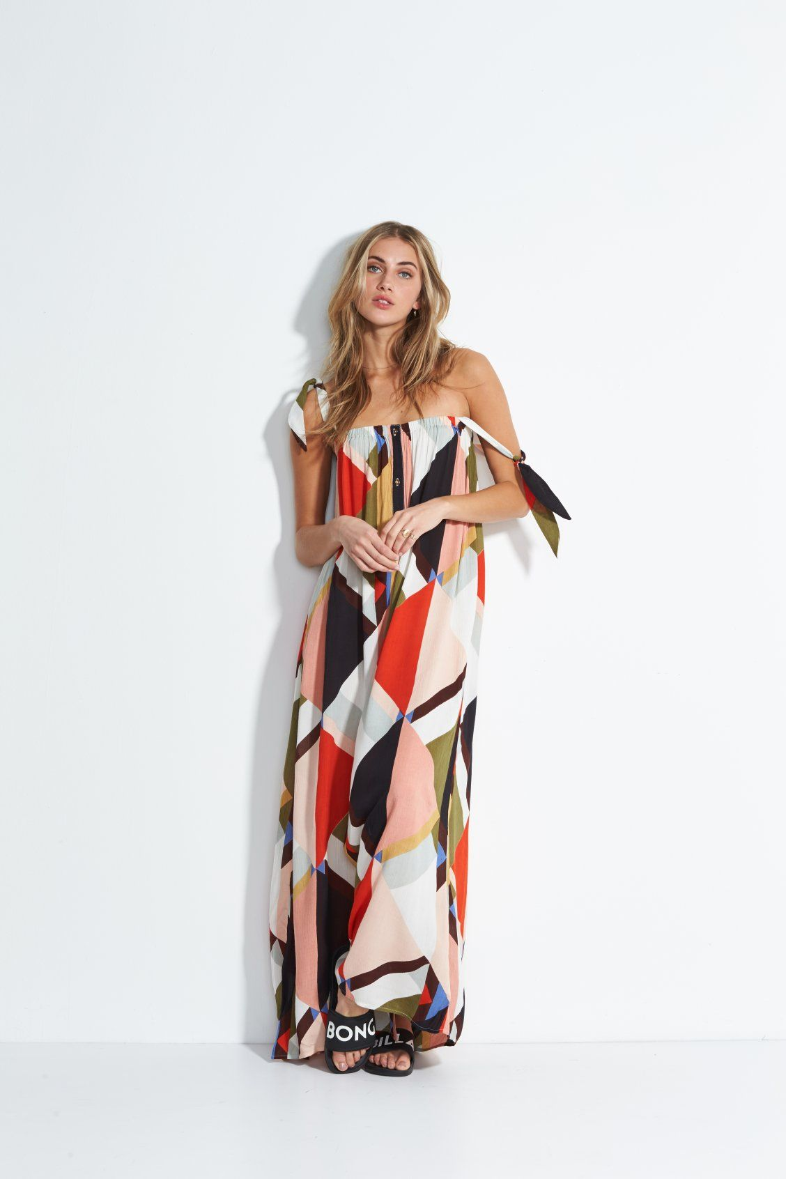 2bb0c851bcd Rainbow Gate Maxi Dress | Malibu in 2019 | Fashion, Dresses, Billabong