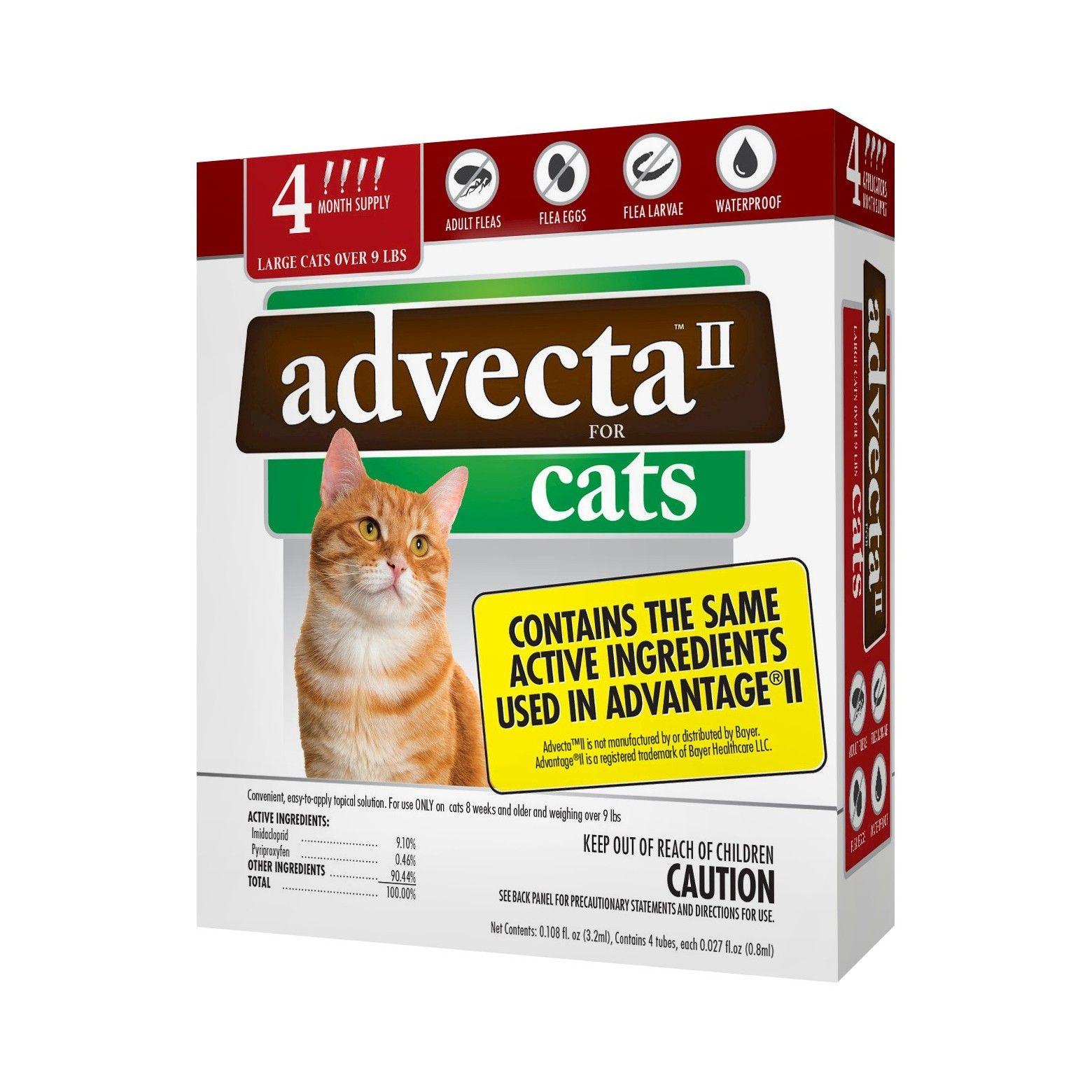 Advecta Ii Flea Drops For Large Cat 4ct Flea Treatment Cat