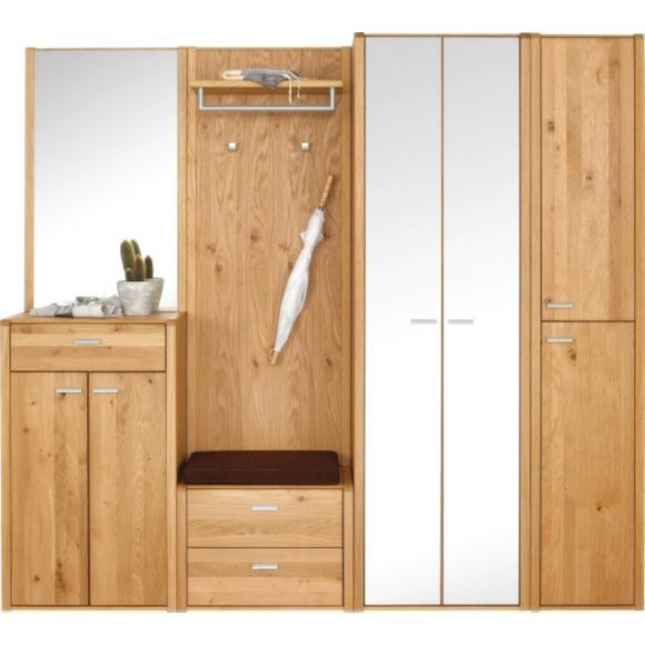 Garderobe garderoben produkte und 30 tag for Garderobe echtholz eiche