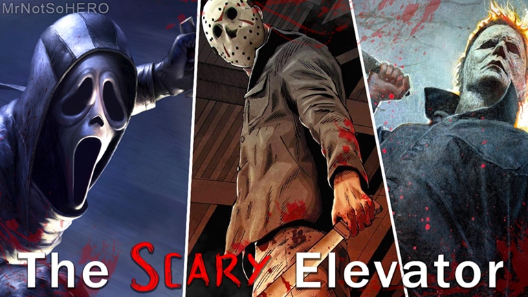 The Creepy Elevator Code For Roblox 15 Christmas The Scary Elevator Roblox Scary Scary Christmas Elevation
