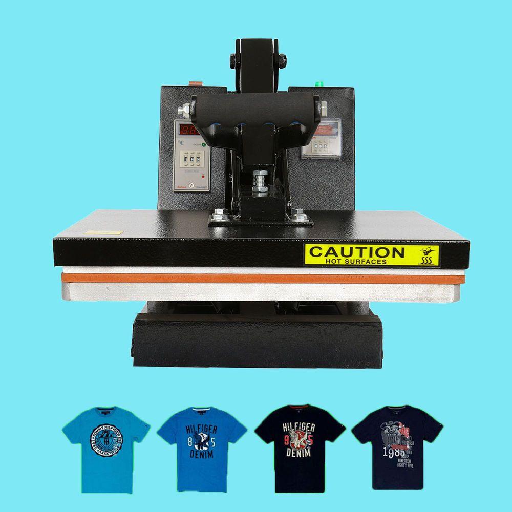 Digital sublimation clamshell heat press transfer t shirt