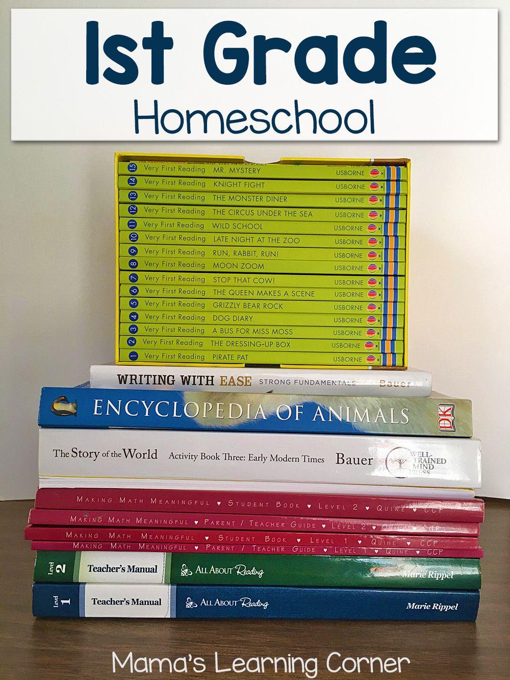First Grade Homeschool Curriculum Plans For 2017 2018