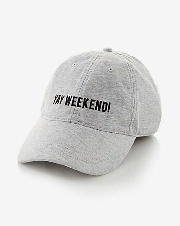 yay weekend baseball hat  3ff40b780de
