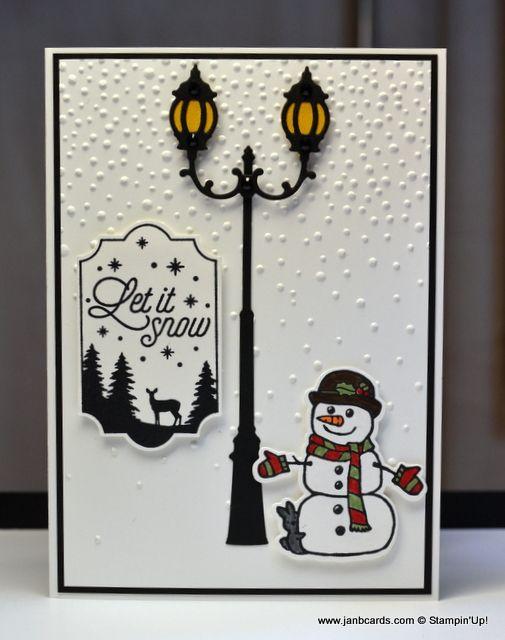 Pin Von Birgit Voss Auf Karten Winter Pinterest Carte Noel Noel