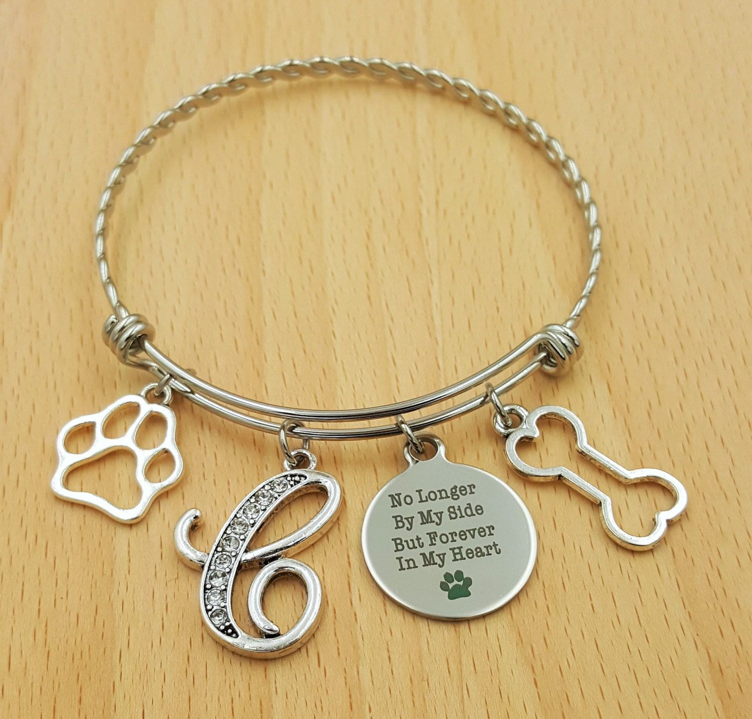 Pet Memorial Bracelet Loss Of Dog Cat