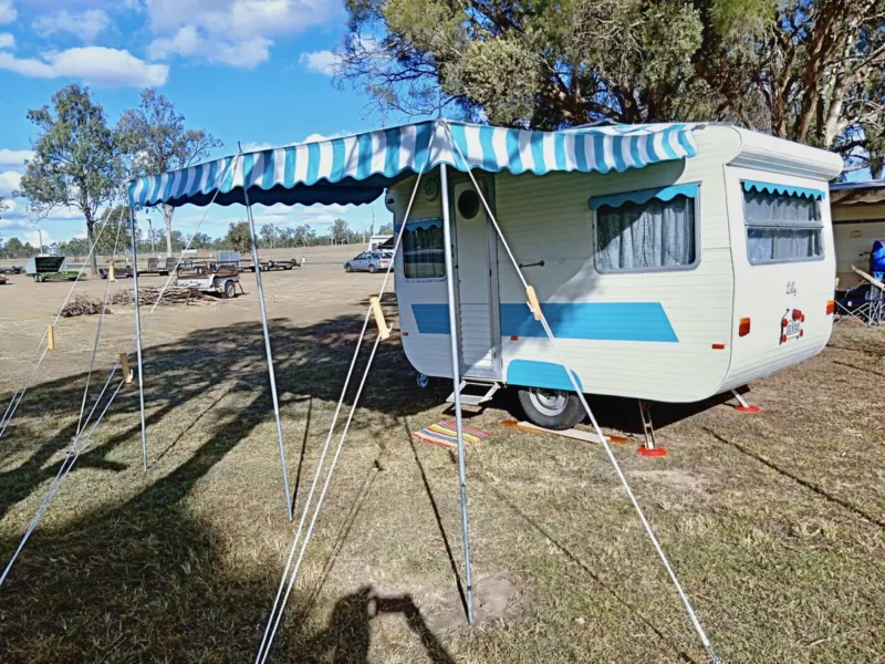 1975 Customline Retro Caravan Caravans Gumtree Australia Brisbane South West Woolloongabba 123072 Retro Caravan Caravans For Sale Recreational Vehicles