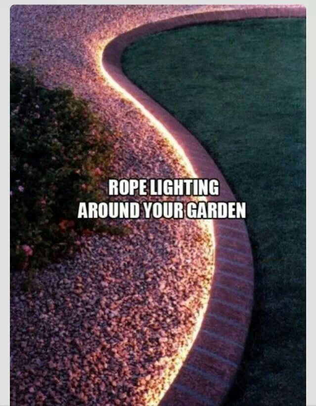 Lovely way to keep your garden beautifully lit