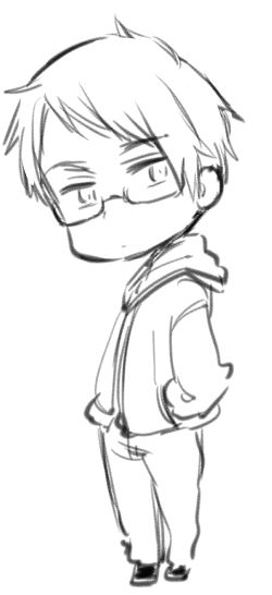 is this gil with glasses or berwald