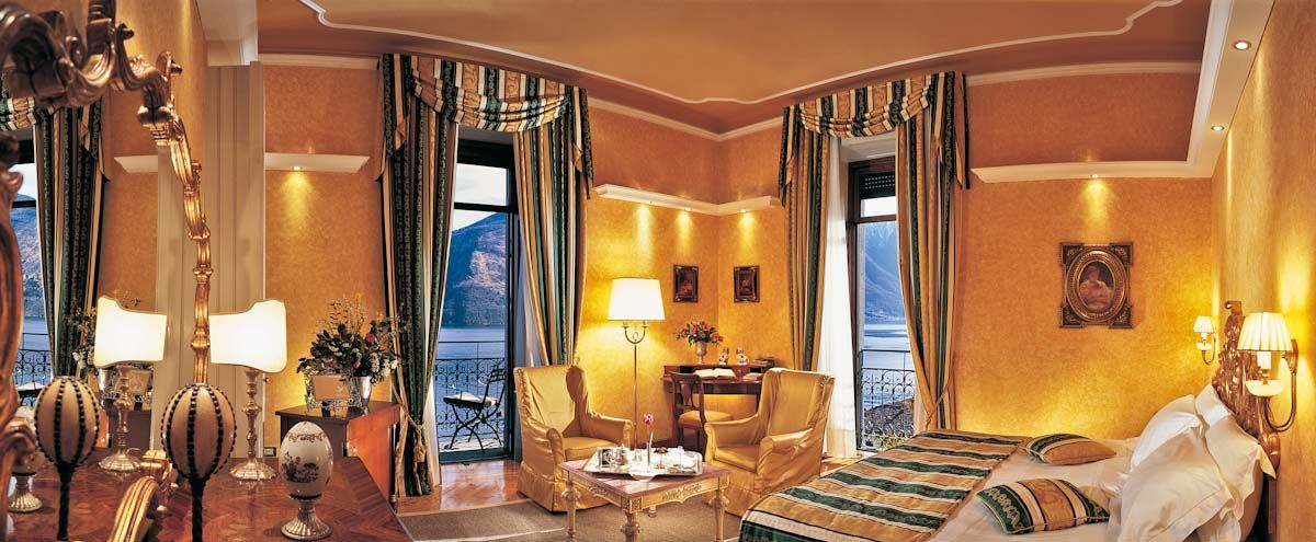 Deluxe Corner Rooms With A View Of Lake Como Grand Hotel