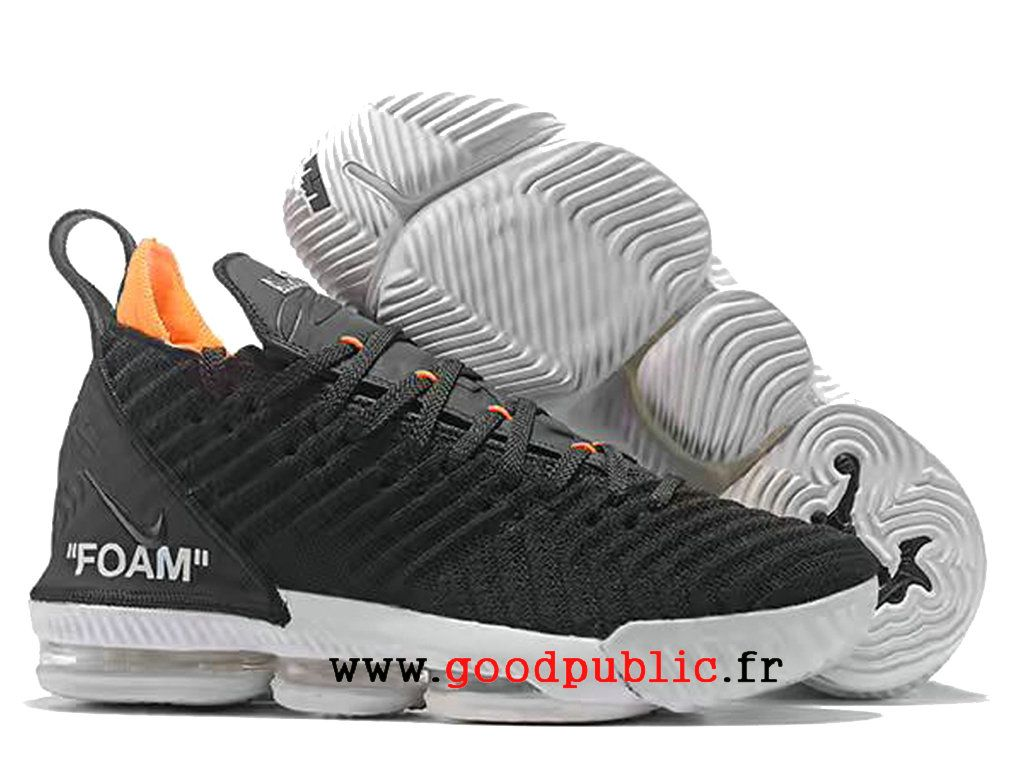best sneakers 82f1b 39da2 Nouveau Nike LeBron 16 Chaussures De BasketBall Pas Cher Prix Homme Jaune  blanc noir AO2588 I122-1810171250-Air Jordan chaussures pas cher  officielles ...
