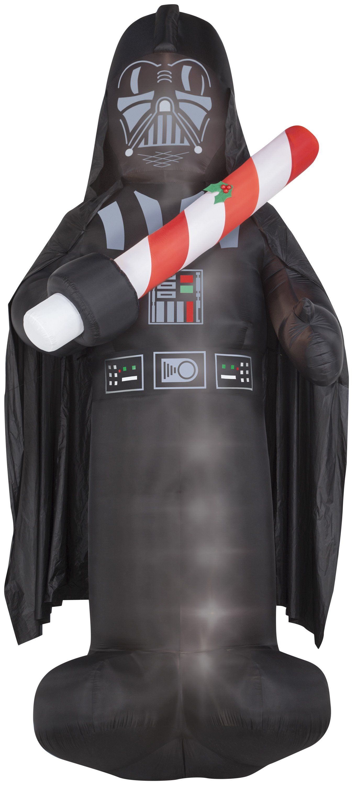 16 giant star wars darth vader w candy cane christmas inflatable