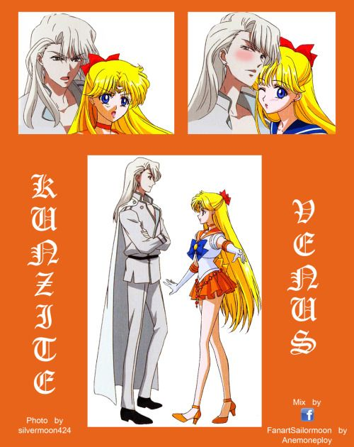 Minako Venus & Kunzite from  Photo sketch book in Blu-ray.