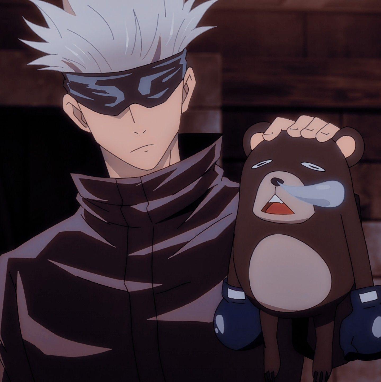 Satoru Gojo Icon Anime Anime Romance Jujutsu