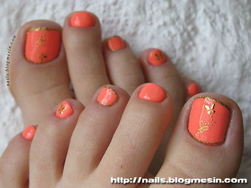 China Glaze Gelaze Flip Flop Fantasy Toenails Design Nails Blogmesin