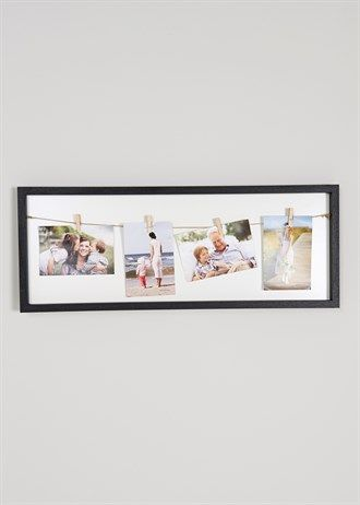 Love these clip photo frames, so easy for changing pictures ...