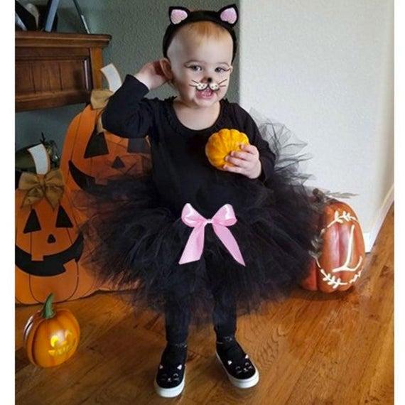 Toddler Cat Costume Toddler Halloween Costume Kitty Costume