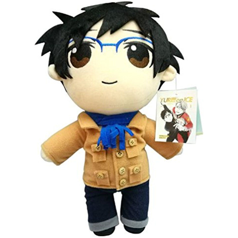 Cartoon Anime Yuri on Ice Cosplay Soft Stuffed Toy Doll