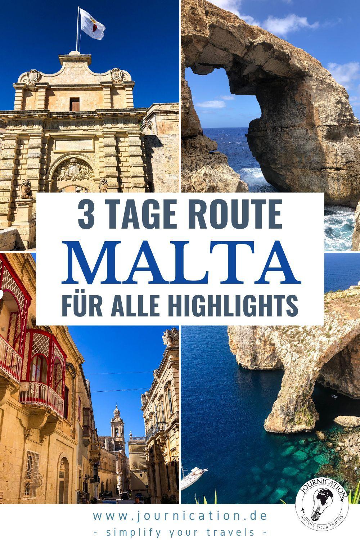 Malta Gozo Comino 3 Tage Rundreise Sehenswurdigkeiten Karten Foto Spots Kosten In 2020 Reisen Rundreise Tolle Reiseziele