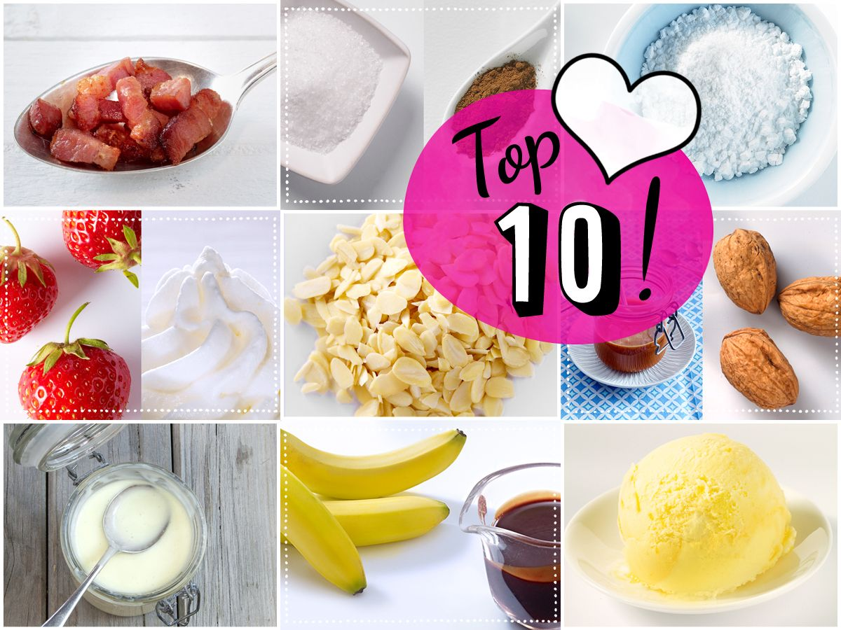 Von dezent bis protzig: Unsere ***Top 10 Pancake-Toppings***