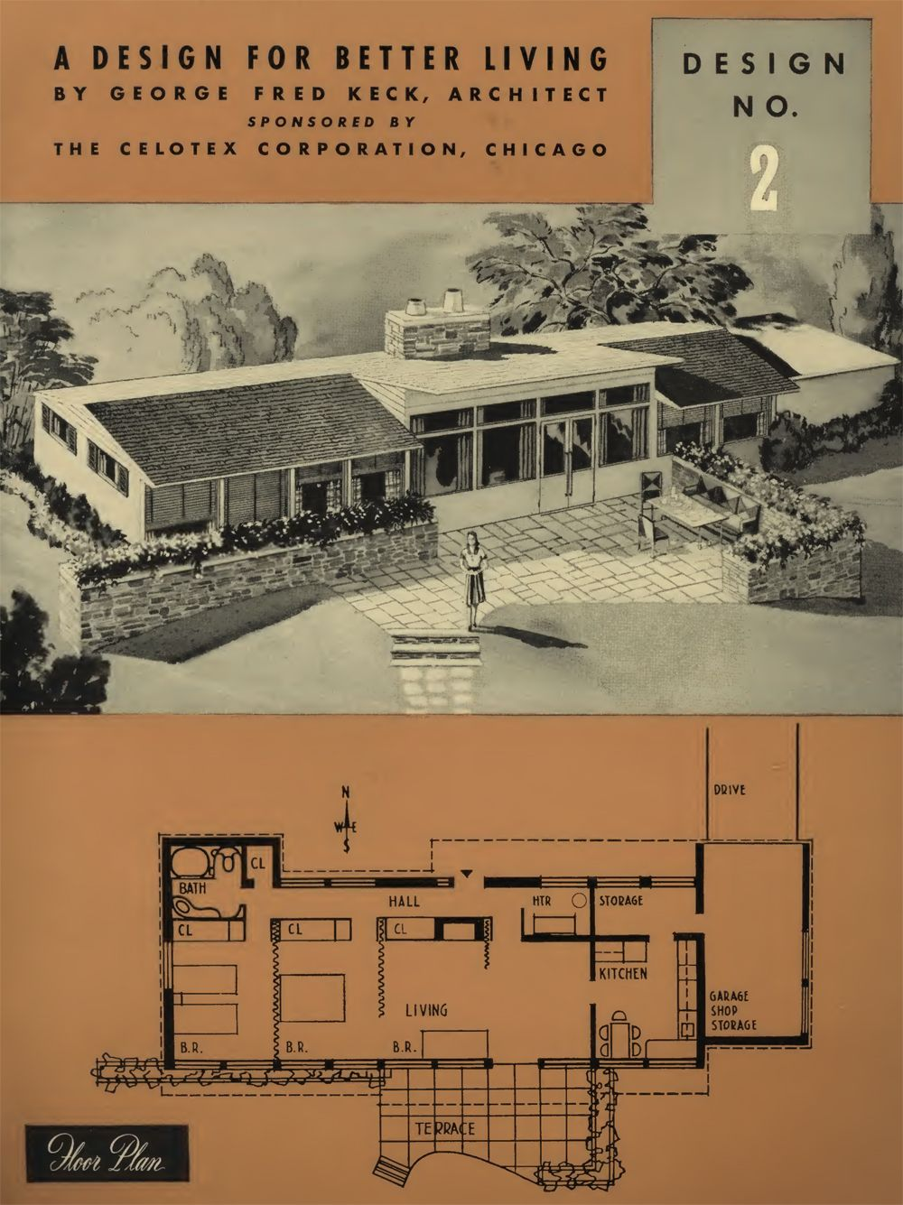 Your Miracle Home Of Tomorrow: A Portfolio Of Designs For Better Living : The Celotex Corp