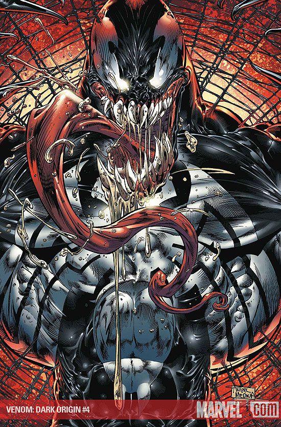 Venom vs Hulk   Image - Venom Dark Origin Vol 1 4 Textless.jpg - Spider-Man Wiki ...