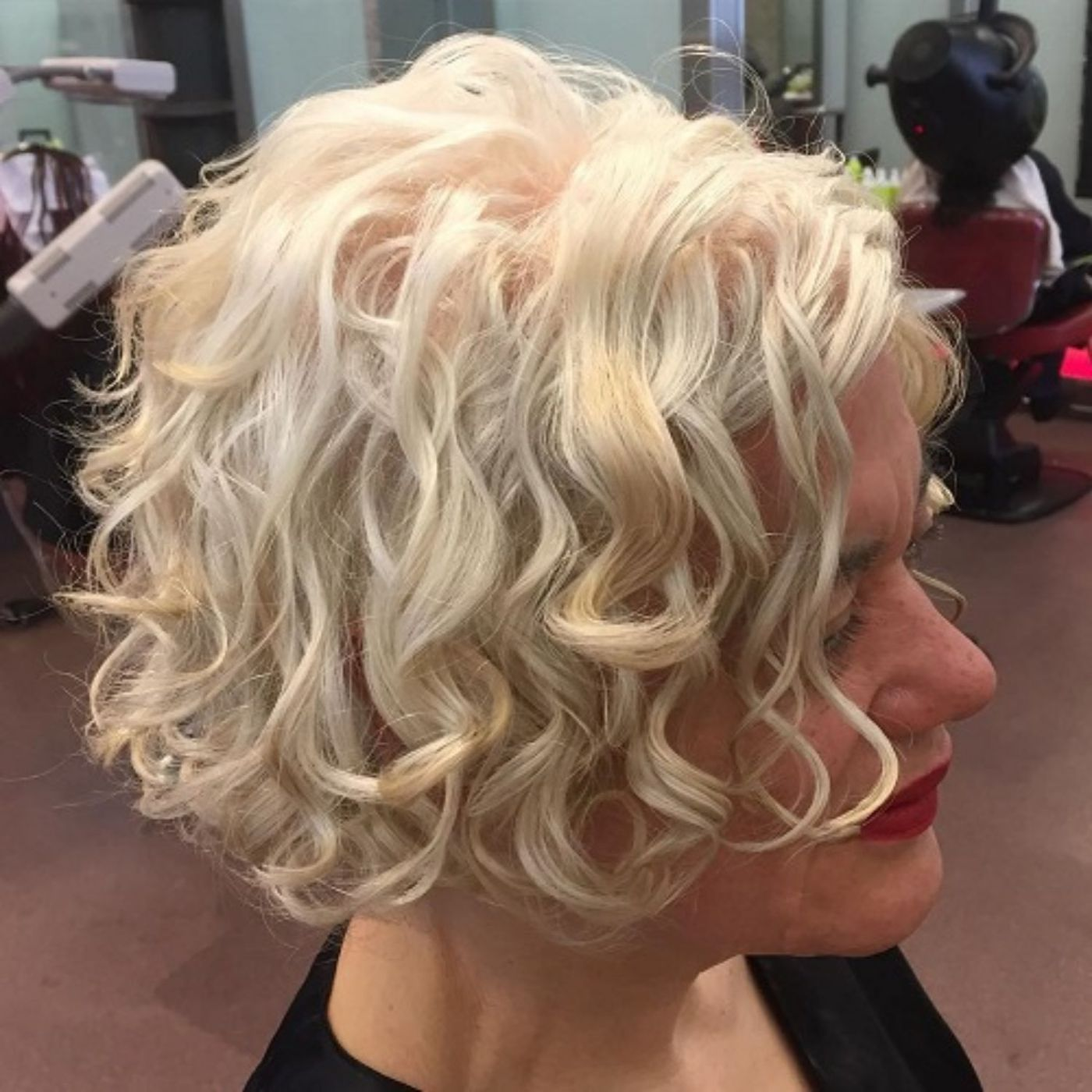 different versions of curly bob hairstyle hair styling