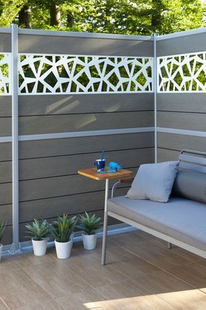 Amenagement Exterieur Par Neoman Sur Kozikaza Fence Design Fence Wall Design Outdoor Decor