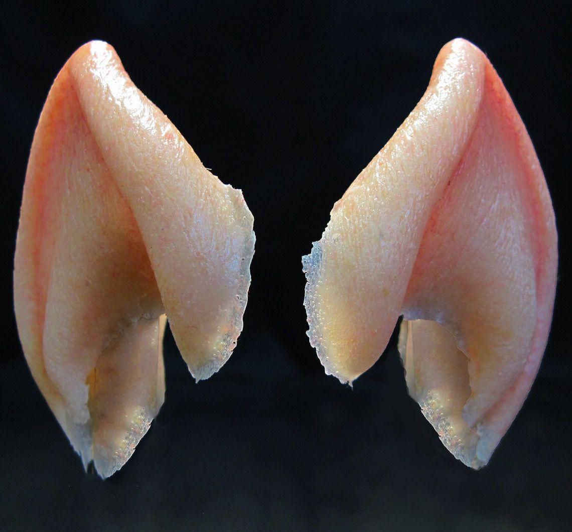 Halloween Prosthetic Makeup Alien Vulcan Ears Reelmagik Llc Prosthetic Makeup Prosthetics Ear