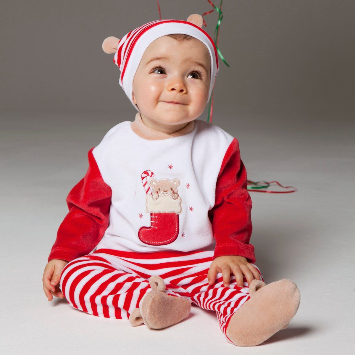 Spread the cheer with baby girl Christmas clothes at Carter's. Shop now for darling baby girl holiday clothes & enjoy free shipping for the holidays.
