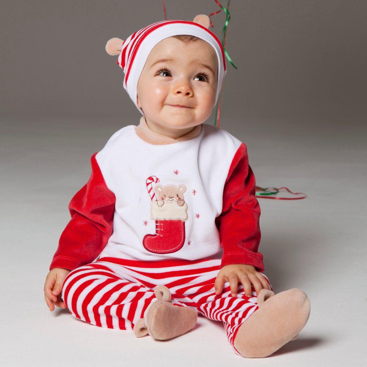 baby boys christmas clothes suit 4pcs set Christmas