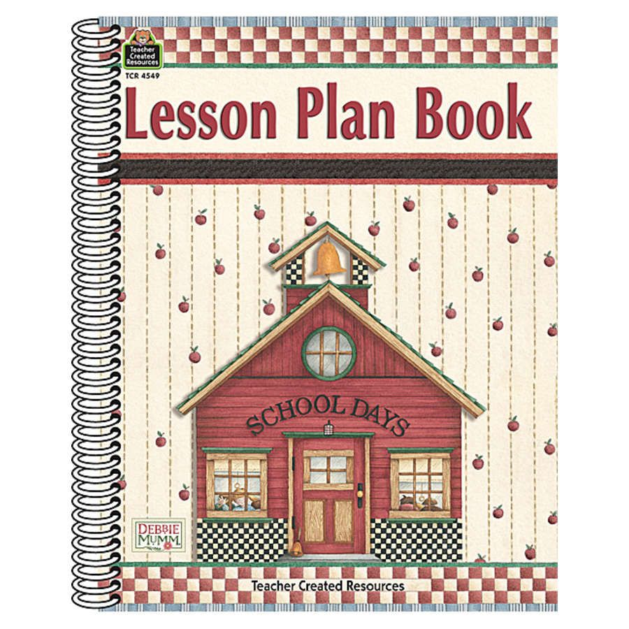 Lesson Plan Book from Debbie Mumm - TCR4549 « Products | Teacher Created Resources