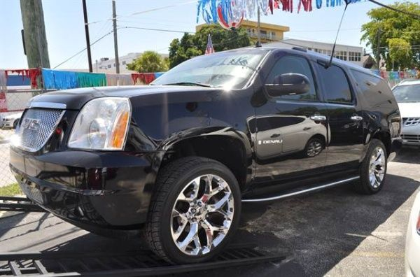 Used 2007 Gmc Yukon Xl Denali For Sale In Miami Fl Truecar