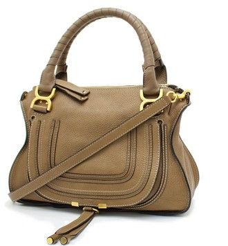 Chloe Grand Calf Marcie 2way Nut Shoulder Bag. Get one of the hottest styles of the season! The Chloe Grand Calf Marcie 2way Nut Shoulder Bag is a top 10 member favorite on Tradesy. Save on yours before they're sold out!