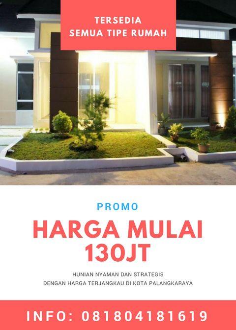Promo Rumah Area Pinguin Palangkaraya Rumah Kota Bangunan