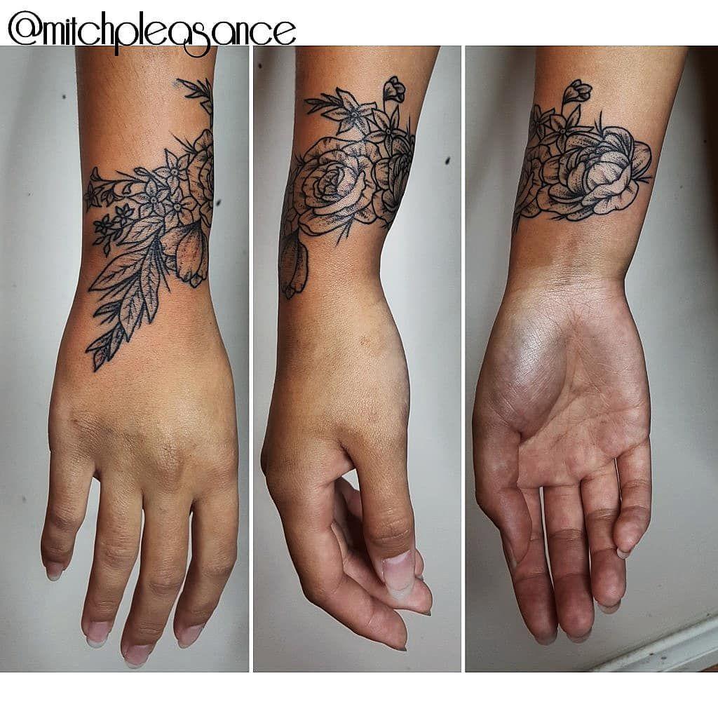 Wrist Ink Wrap Around Wrist Tattoos Flower Wrist Tattoos Wrist Tattoo Cover Up