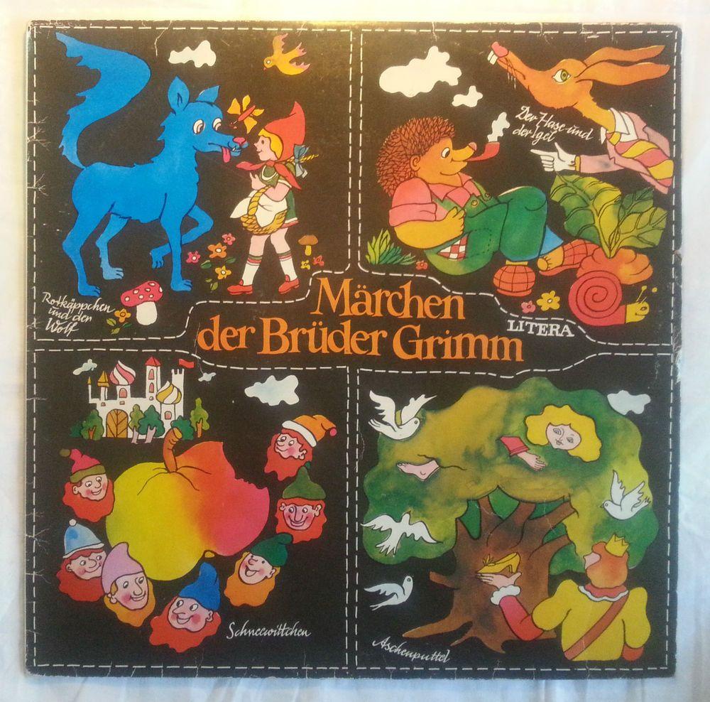 Märchen Der Brüder Grimm 4 Stück 12 Vinyl Schallplatte